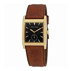 Movado-3650043-Mens-Herirtage--Black-Quartz-Watch