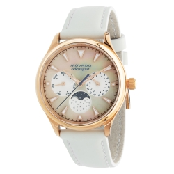 Movado-3650073-Womens-Heritage-White-Quartz-Watch