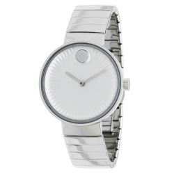 Movado-3680012-Womens-Edge--Silver-Concave-Sandblasted--Aluminum-Quartz-Watch