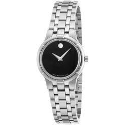 Movado-0606204-Womens-Metio-Black-Quartz-Watch