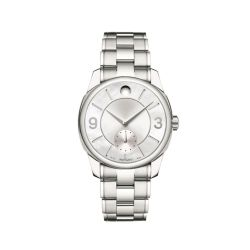 Movado-0606618-Womens-LX-Silver-Tone-Quartz-Watch