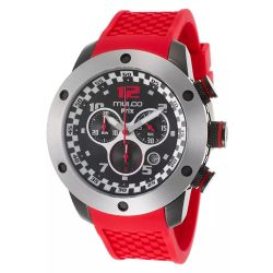 Mulco-MW2-6313-065-Mens-Stainless-Steel-Black-Quartz-Watch