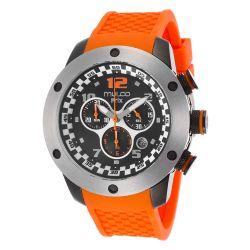 Mulco-MW2-6313-085-Mens-Stainless-Steel-Black-Quartz-Watch