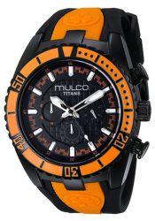 Mulco-MW51836615-Mens-Stainless-Steel-Black-Quartz-Watch