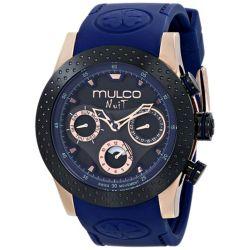 Mulco-MW51962445-Mens-Stainless-Steel-Black-Quartz-Watch