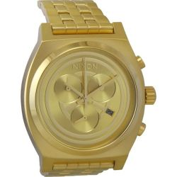 Nixon-A972SW2378-00-Mens-Star-Wars-Time-Teller-Gold-Tone-Quartz-Watch