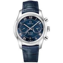 Omega-431.13.42.51.03.001-Mens-De-Ville-Blue-Automatic-Watch