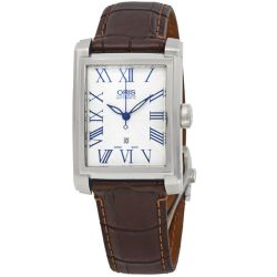 Oris-01-561-7657-4071-07--5-21-70FC-Mens-Rectangular-Date-White-Automatic-Watch