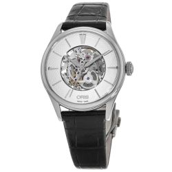 Oris-01-561-7724-4051-07-5-17-64FC-Womens-Artelier-Silver-Tone-Automatic-Watch