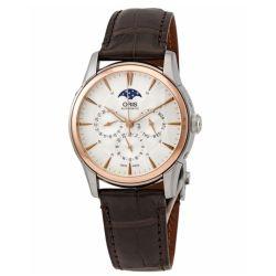 Oris-01-582-7689-6351-07-1-21-73FC-Mens-Artelier-Complication-Grey-Automatic-Watch