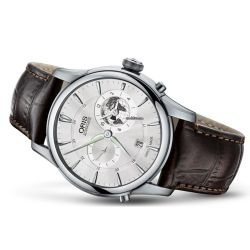 Oris-01-690-7690-4081-07-5-22-70FC-Mens-Artelier-Greenwich-White-Automatic-Watch