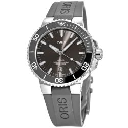 Oris-01-733-7730-7153-07-4-24-63TEB-Mens-Aquis-Grey-Automatic-Watch