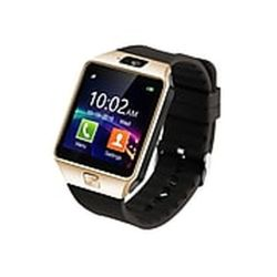 Polaroid-SW1502-Gold-Unisex-Smart-Watch-LCD-Quartz-Watch