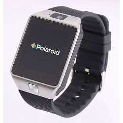Polaroid-SW1502-Silver-Unisex-Smart-Watch-LCD-Quartz-Watch