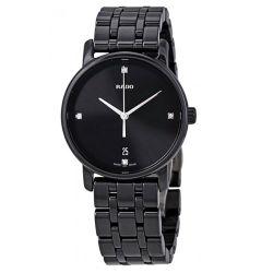 Rado-R14063717-Womens-Diamaster-Black-Quartz-Watch