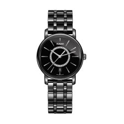 Rado-R14063737-Womens-Diamaster-Black-Quartz-Watch