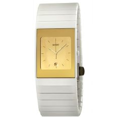 Rado-R21709252-Womens-Ceramica-Gold-Tone-Quartz-Watch