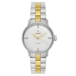Rado-R22875702-Womens-Coupole-Classic-White-Automatic-Watch