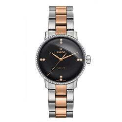 Rado-R22875752-Womens-Coupole-Classic-Black-Automatic-Watch