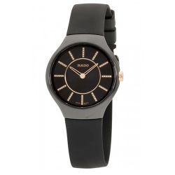 Rado-R27742709-Womens-True-Thinline-Black-Quartz-Watch