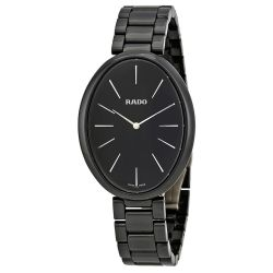 Rado-R53093152-Womens-Esenza-Ceramic-Black-Quartz-Watch