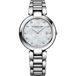 Raymond-Weil-1600-ST-00995-Womens-Shine-Mother-of-Pearl-Quartz-Watch
