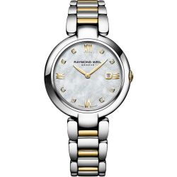 Raymond-Weil-1600-STP-00995-Womens-Shine-Mother-of-Pearl-Quartz-Watch
