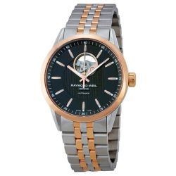 Raymond-Weil-2710-SP5-20021-Mens-Freelancer--Black-Automatic--Watch