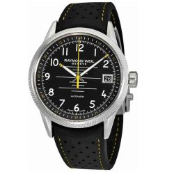Raymond-Weil--2754-SR-05200-Mens-Freelancer--Black-Automatic-Watch