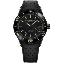 Raymond-Weil--2760-SB1-20001-Mens-Freelancer--Black-Automatic-Watch