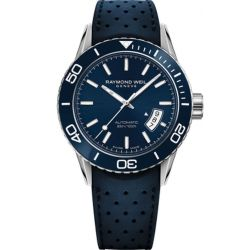 Raymond-Weil-2760-SR3-50001-Mens-Freelancer--Blue--Automatic--Watch