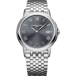 Raymond-Weil-5466-ST-00608-Mens-Tradition-Gray-Quartz-Watch