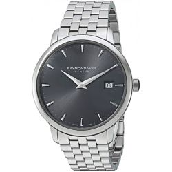 Raymond-Weil-5488-ST-60001-Mens-Toccata-Dark-Gray-Quartz-Watch