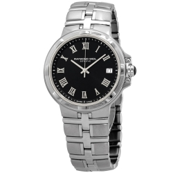 Raymond-Weil-5580-ST-00208-Mens-Parsifal-Black-Quartz-Watch