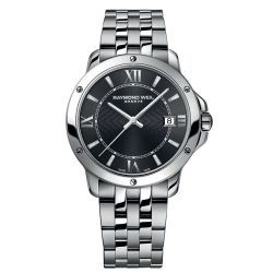 Raymond-Weil-5591-ST-00607-Mens-Tango-Dark-Gray-Quartz-Watch