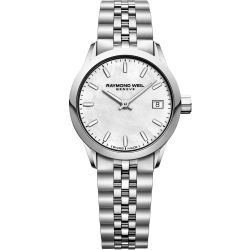 Raymond-Weil--5626-ST-97021-Womens-Freelancer--Mother-of-pearl-Quartz-Watch
