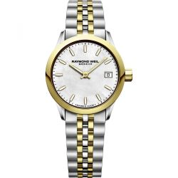 Raymond-Weil--5626-STP-97021-Womens-Freelancer--Mother-of-pearl-Quartz-Watch