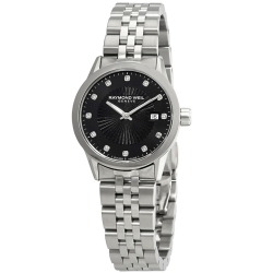 Raymond-Weil-5629-ST-20081-Womens-Freelancer-Black-Quartz-Watch