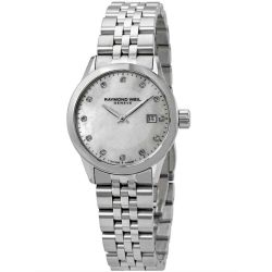 Raymond-Weil-5629-ST-97081-Womens-Freelancer-White--Quartz-Watch