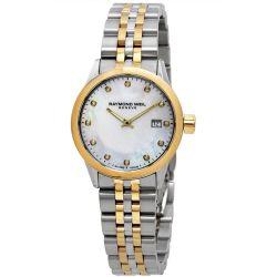 Raymond-Weil-5629-STP-97081-Womens-Freelancer-White-Quartz-Watch