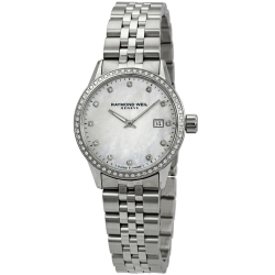 Raymond-Weil-5629-STS-97081-Womens-Freelancer-White-Quartz-Watch
