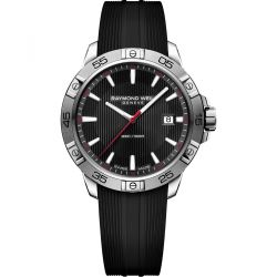 Raymond-Weil--8160-SR2-20001-Mens-Tango-Black-Quartz-Watch