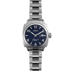 Shinola-S0110000299-Womens-Brakeman-Silver-Tone-Quartz-Watch