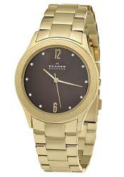 Skagen-SKW2108-Mens-Stainless-Steel-Brown-Quartz-Watch