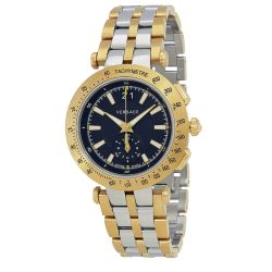 Versace-VAH020016-Mens-V-RACE-Two-Tone-Quartz-Watch