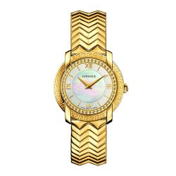Versace-VAM040016-Womens-DV25--Gold-Tone-Quartz-Watch