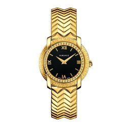 Versace-VAM050016-Womens-DV25-Gold-Tone-Quartz-Watch