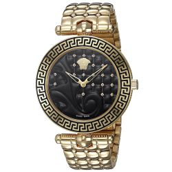 Versace-VK7250015-Womens-VANITAS-Gold-Tone-Quartz-Watch