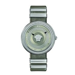 Versace-VLC120016-Womens-V-METAL-ICON-Silver-Tone-Quartz-Watch