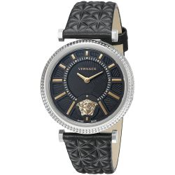 Versace-VQG020015-Womens-V-HELIX-Silver-Tone-Quartz-Watch